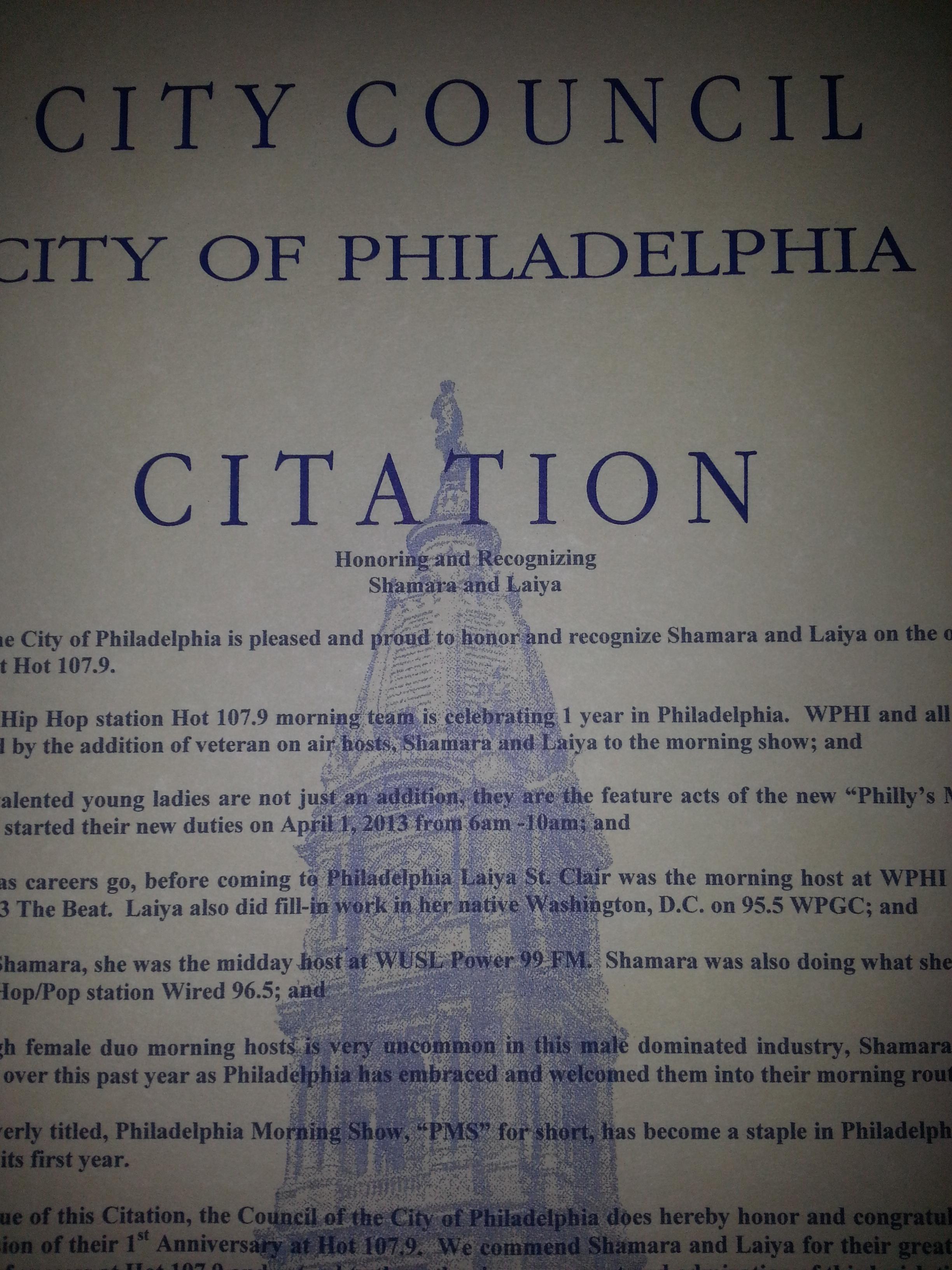 PMS Citation