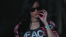 Rihanna Smoking