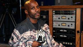 DMX Recording At Ruff Ryders Recording Studios