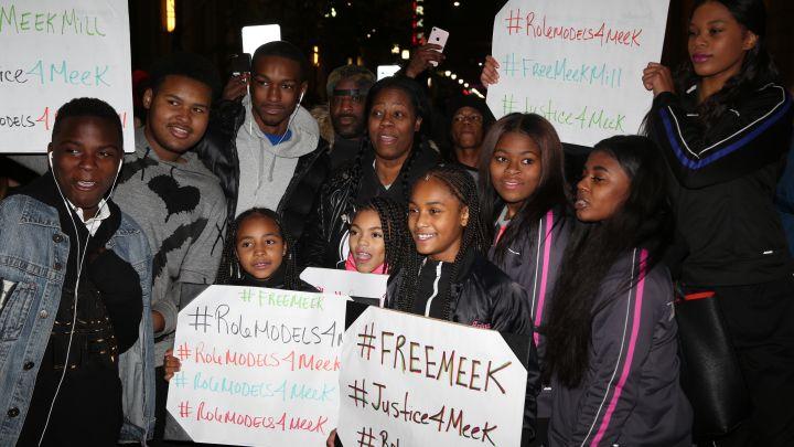 Free Meek Mill Rally