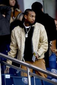 French Ligue 1 - Paris Saint-Germain v Nantes - Celebrity sighting