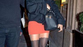 Celebrity Sightings In Paris - October 22, 2011