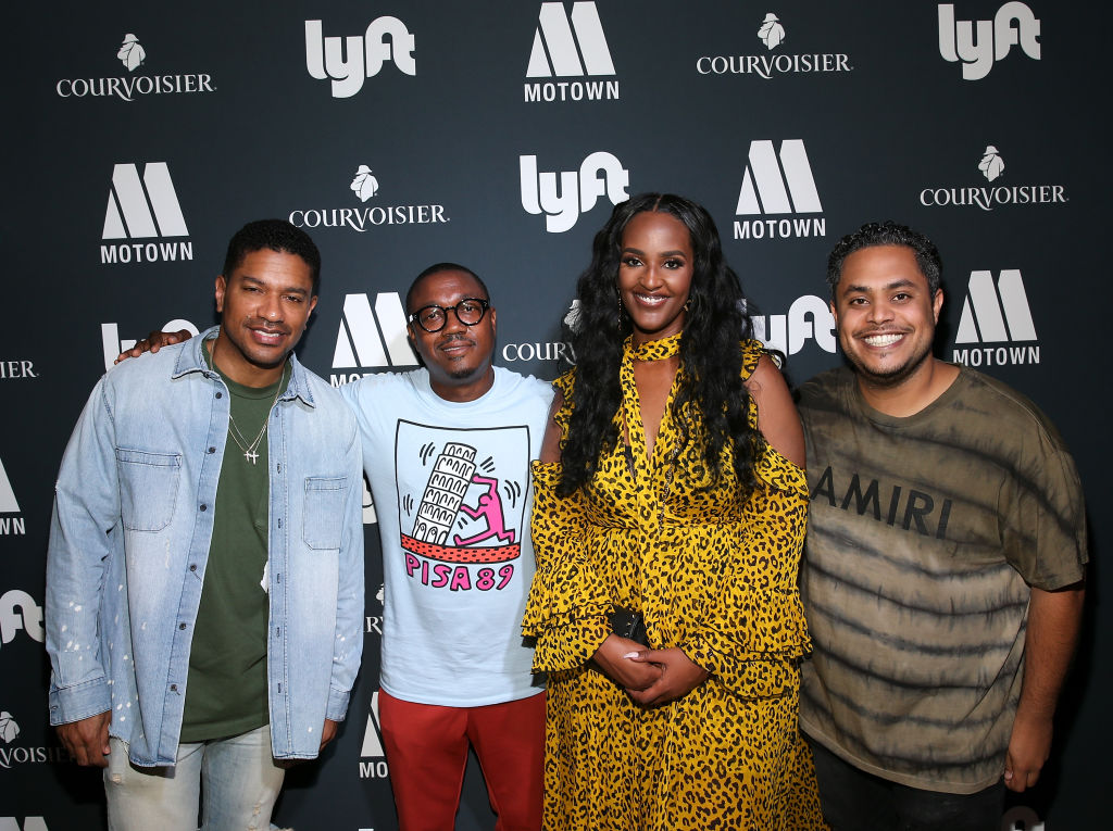 Motown Records In Partnership With Courvoisier And Lyft Host Celebratory Dinner