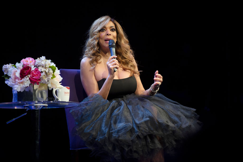Wendy Williams answers questions before a live audience at The Fillmore