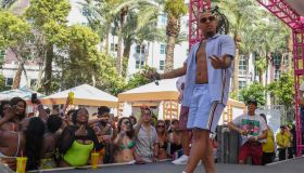 """Shad """"Bow Wow"""" Moss Performs At Flamingo Go Pool In Las Vegas"""