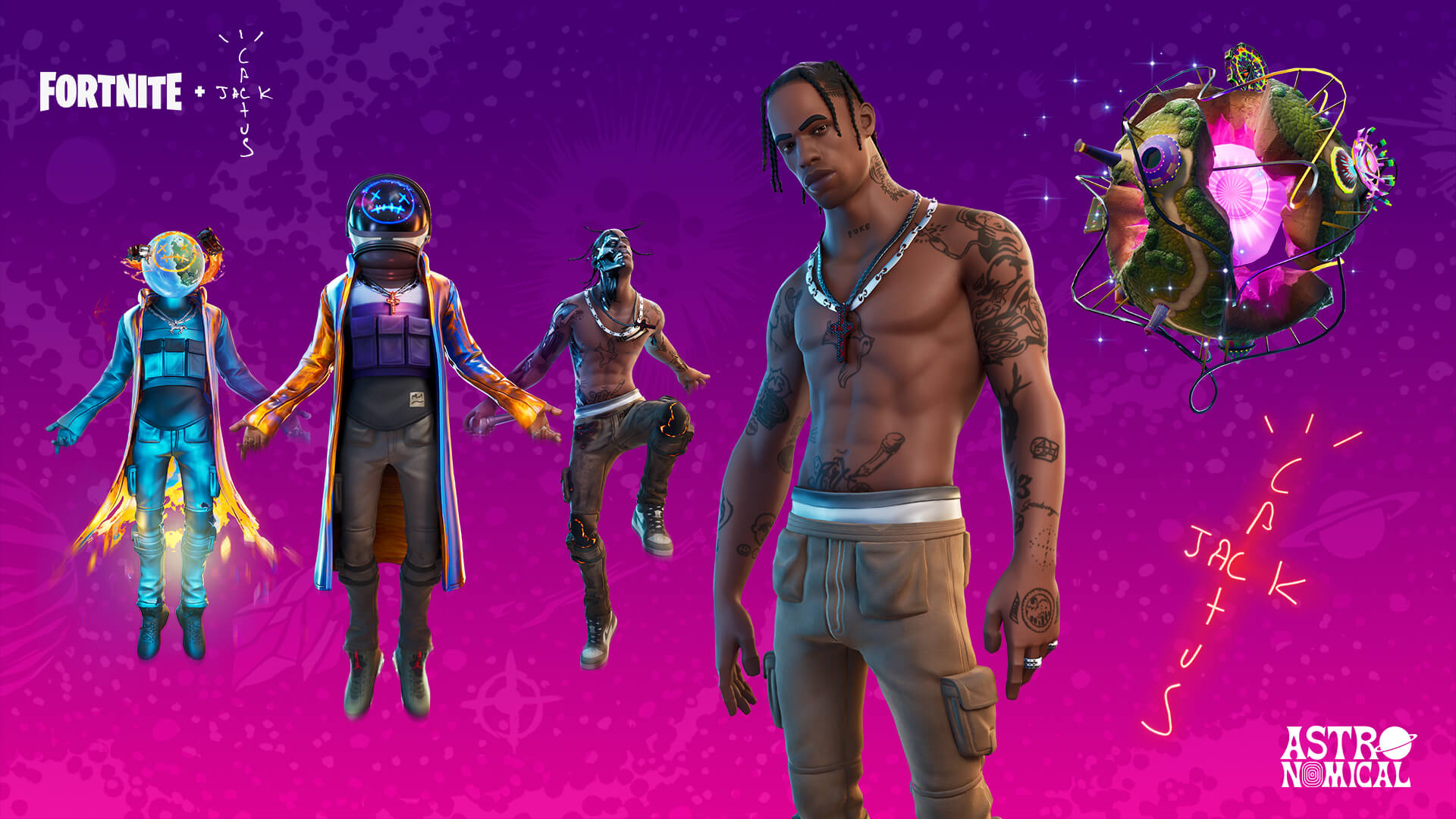 Travis Scott 'Fortnite'