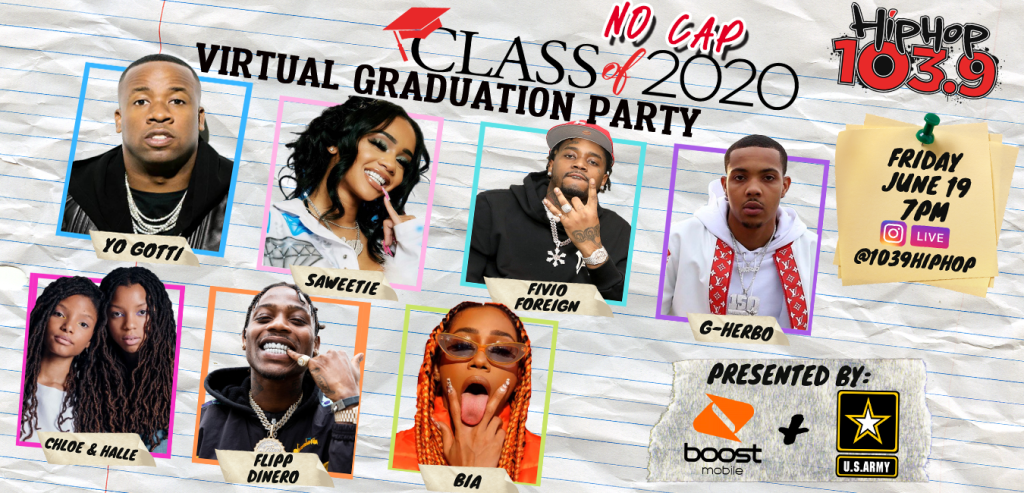 CLASS OF no cap 2020 philly hh1039