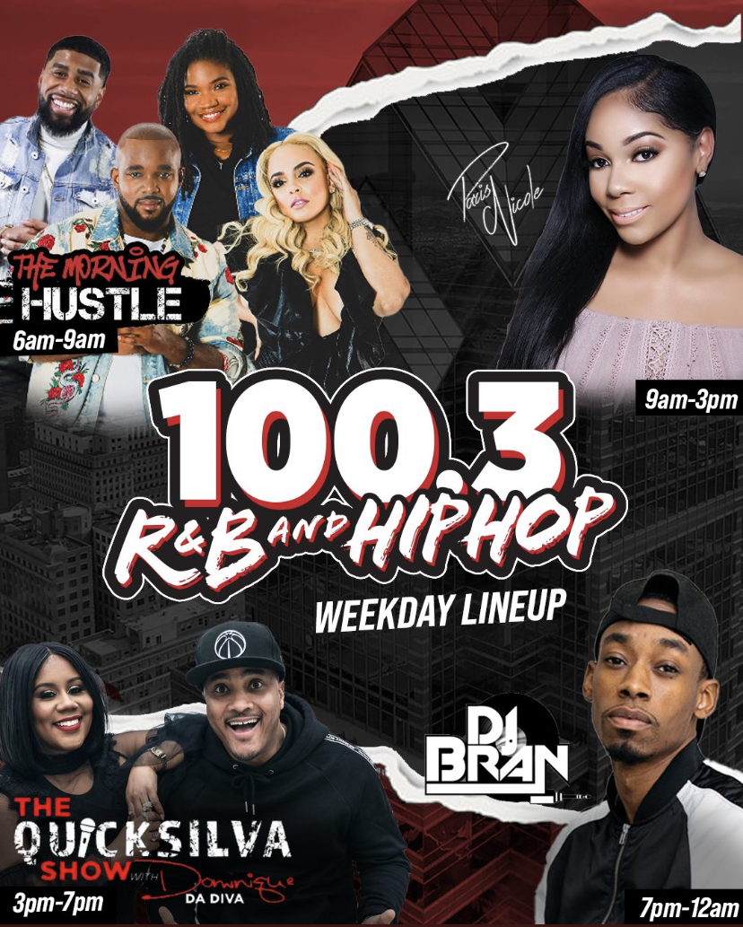 100.3 R&B And Hip-Hop