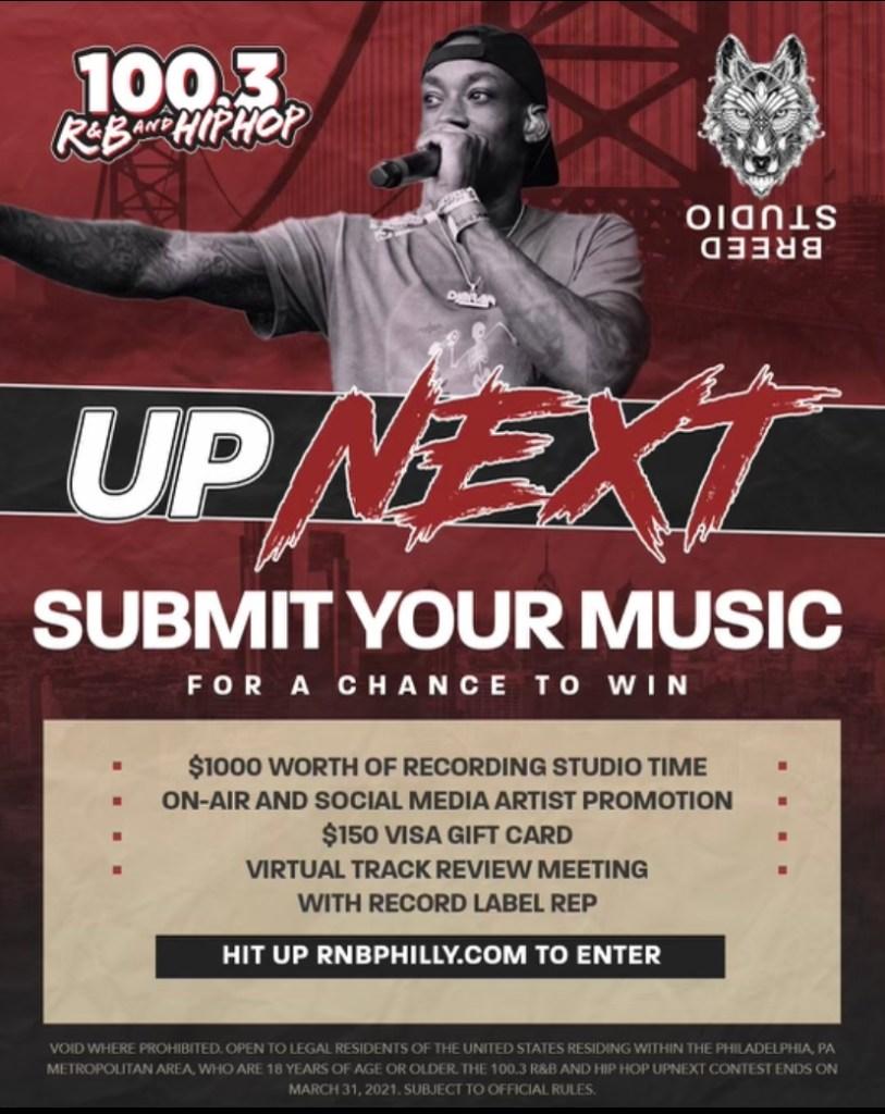 UPNEXT 100.3 R&B Hip Hop