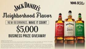 Featured Graphic - Jack Daniel's Neighborhood Flavor. New Beginnings. MAKE IT COUNT