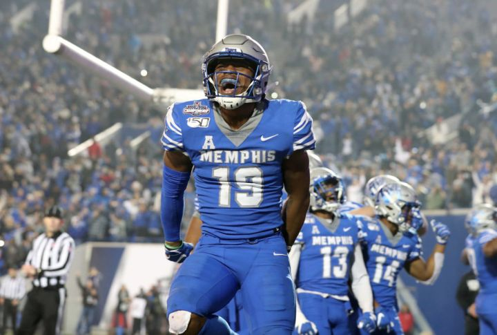 Round 5, pick 150 – Kenneth Gainwell, RB, Memphis