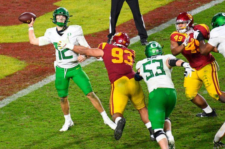 COLLEGE FOOTBALL: DEC 18 Pac-12 Championship Game - Oregon v USC