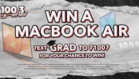 MacBook Air Graduation Sweepstakes Graphic