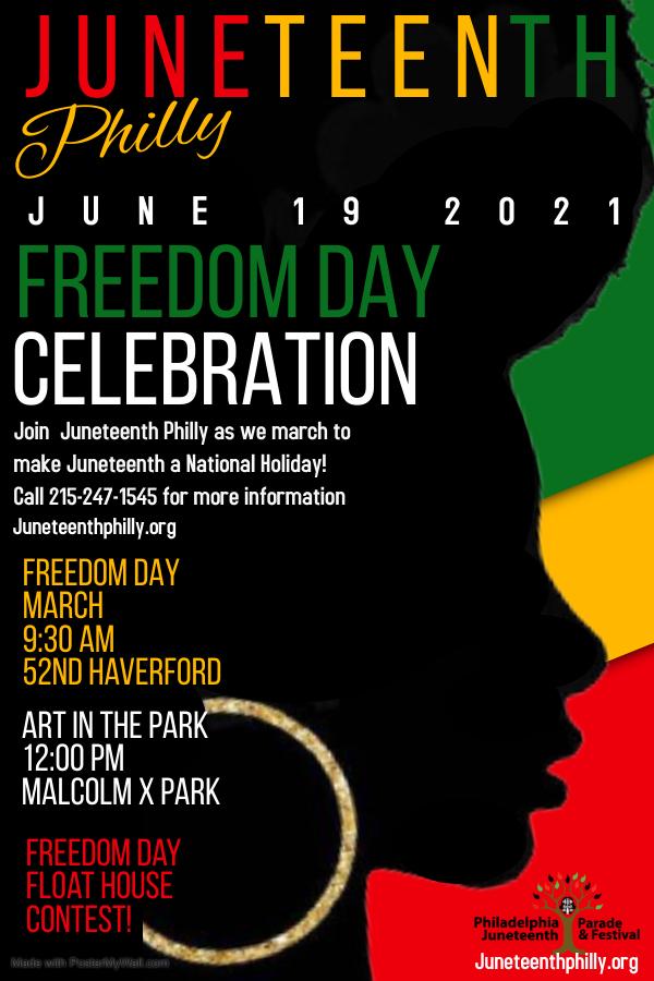 Juneteenth Freedom day celebration