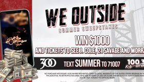 WE OUTSIDE! Summer Sweepstakes