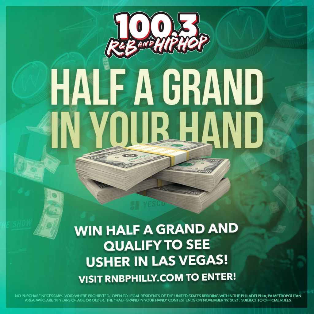 Half a grand in your hand rnb philly