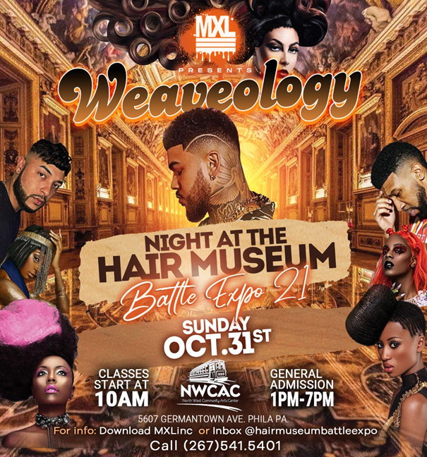 Max level presents Weaveology rnbphilly