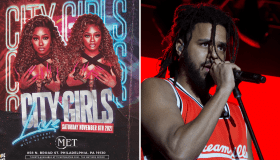City Girls + J Cole Graphic